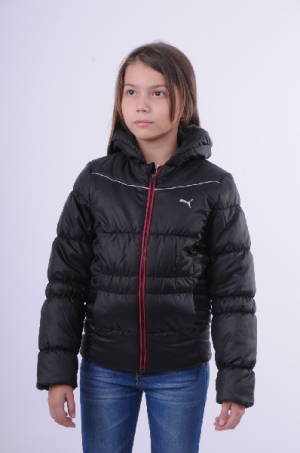 Куртка утепленная Padded Jacket black Puma